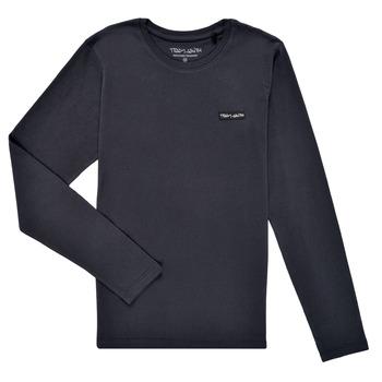 Îmbracaminte Băieți Tricouri cu mânecă lungă  Teddy Smith T-NARK ML Albastru