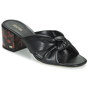 Pantofi Femei Papuci de vară MICHAEL Michael Kors JOSIE Negru