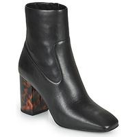 Pantofi Femei Botine MICHAEL Michael Kors MARCELLA Negru