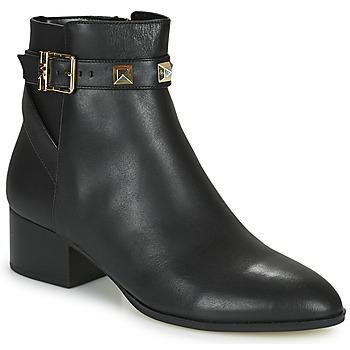 Pantofi Femei Ghete MICHAEL Michael Kors BRITTON Negru