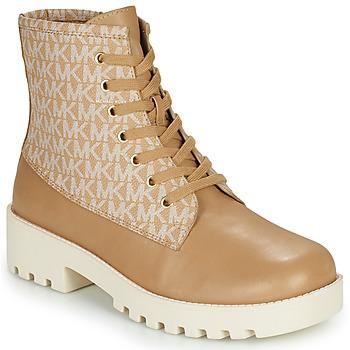 Pantofi Femei Ghete MICHAEL Michael Kors JAX Camel
