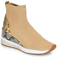 Pantofi Femei Pantofi sport stil gheata MICHAEL Michael Kors SKYLER Camel