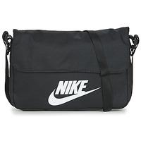 Genti Genți  Banduliere Nike NIKE SPORTSWEAR Negru / Alb