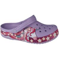 Pantofi Copii Saboti Crocs Fun Lab Unicorn Band Clog Violet