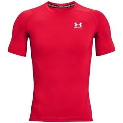 Îmbracaminte Bărbați Tricouri mânecă scurtă Under Armour Heatgear Armour Roșii