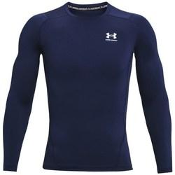 Îmbracaminte Bărbați Tricouri cu mânecă lungă  Under Armour Heatgear Armour Albastru marim