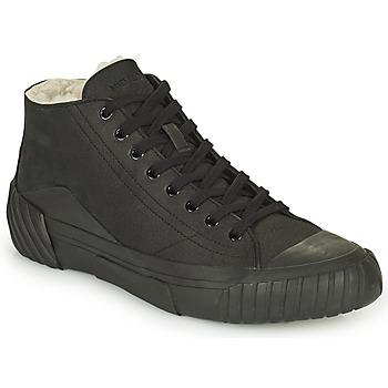 Pantofi Bărbați Pantofi sport stil gheata Kenzo TIGER CREST SHEARLING SNEAKERS Negru