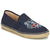 Pantofi Bărbați Espadrile Kenzo ESPADRILLE ELASTIC TIGER Albastru