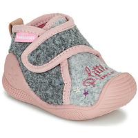 Pantofi Fete Papuci de casă Biomecanics BIOHOME Gri / Roz