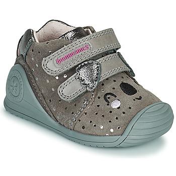Pantofi Fete Pantofi sport Casual Biomecanics BIOGATEO CASUAL Taupe