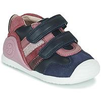 Pantofi Fete Pantofi sport Casual Biomecanics BIOGATEO SPORT Albastru / Roz
