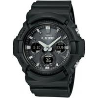 Ceasuri & Bijuterii Bărbați Cesuri Analogic- digital Casio GAW-100B-1AER, Quartz, 52mm, 20ATM Negru