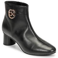 Pantofi Femei Ghete Calvin Klein Jeans CYLINDER ANKLE BOOT Negru