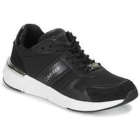 Pantofi Femei Pantofi sport Casual Calvin Klein Jeans FLEXRUNNER MIXED MATERIALS Negru / Argintiu