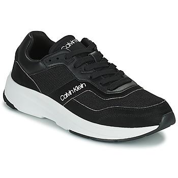 Pantofi Bărbați Pantofi sport Casual Calvin Klein Jeans LOW TOP LACE UP MIX Negru