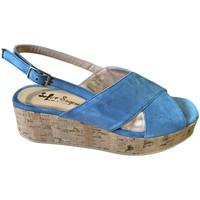Pantofi Femei Sandale  Soffice Sogno SOSOE21791sky blu