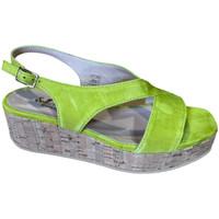 Pantofi Femei Sandale  Soffice Sogno SOSOE21792lime blu