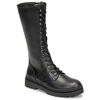 Pantofi Femei Cizme casual Pataugas MARY Negru