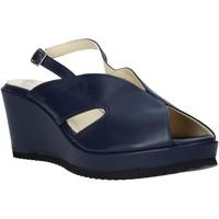 Pantofi Femei Sandale  Esther Collezioni ZB 115 Albastru