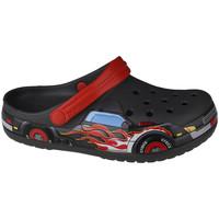 Pantofi Copii Saboti Crocs Fun Lab Truck Band Clog Grise