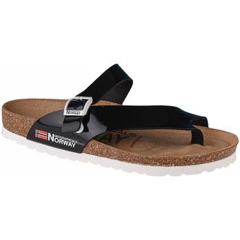 Pantofi Femei  Flip-Flops Geographical Norway Sandalias Infradito Donna Noir