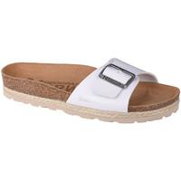 Pantofi Femei Papuci de vară Geographical Norway Sandalias Bios Pala Hebilla Blanc
