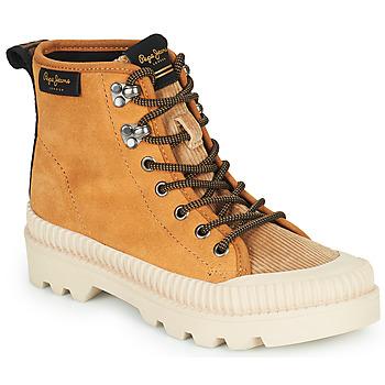 Pantofi Femei Pantofi sport stil gheata Pepe jeans ASCOT DESERT Camel