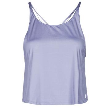 Îmbracaminte Femei Maiouri și Tricouri fără mânecă adidas Performance YOGA CROP Violet / Orbită