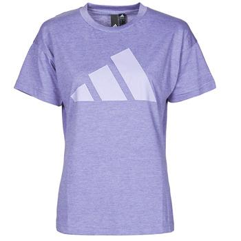 Îmbracaminte Femei Tricouri mânecă scurtă adidas Performance WEWINTEE Violet / Mel