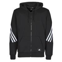 Îmbracaminte Bărbați Bluze îmbrăcăminte sport  adidas Performance M FI 3S FZ Negru