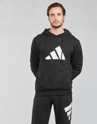 Îmbracaminte Bărbați Hanorace  adidas Performance M FI 3B HOODIE Negru