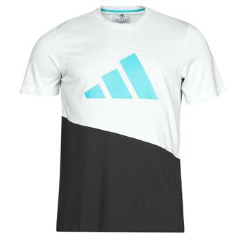 Îmbracaminte Bărbați Tricouri mânecă scurtă adidas Performance FUTURE BLK TEE Alb / Cristal