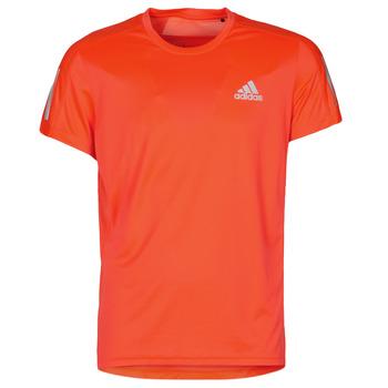 Îmbracaminte Bărbați Tricouri mânecă scurtă adidas Performance OWN THE RUN TEE App / Solar / Red