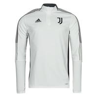 Îmbracaminte Bluze îmbrăcăminte sport  adidas Performance JUVE TR TOP Alb / Esențial