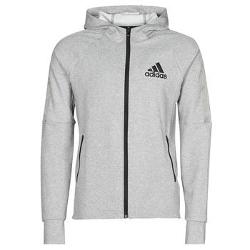 Îmbracaminte Bărbați Bluze îmbrăcăminte sport  adidas Performance M MT FZ HD Heather / Gri / Moyen