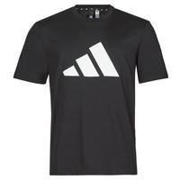 Îmbracaminte Bărbați Tricouri mânecă scurtă adidas Performance M FI 3B TEE Negru