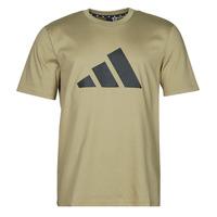 Îmbracaminte Bărbați Tricouri mânecă scurtă adidas Performance M FI 3B TEE Verde / Orbită