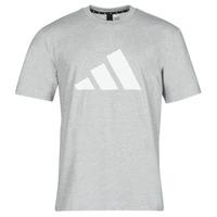 Îmbracaminte Bărbați Tricouri mânecă scurtă adidas Performance M FI 3B TEE Heather / Gri / Moyen