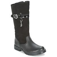 Pantofi Fete Cizme casual Start Rite AQUA-FELINE Negru