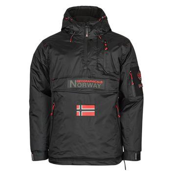 Îmbracaminte Bărbați Geci Parka Geographical Norway BARKER Negru