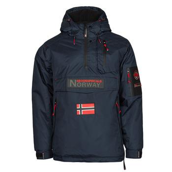 Îmbracaminte Bărbați Geci Parka Geographical Norway BARKER Albastru