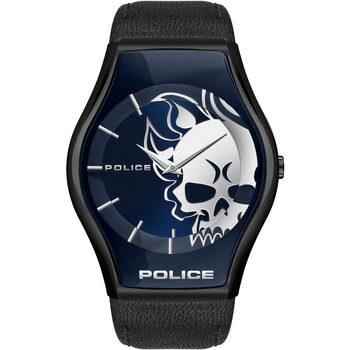 Ceasuri & Bijuterii Bărbați Ceasuri Analogice Police PEWJA2002302, Quartz, 45mm, 3ATM Negru
