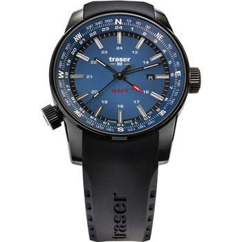 Ceasuri & Bijuterii Bărbați Ceasuri Analogice Traser H3 Traser 109743, Quartz, 46mm, 10ATM Negru