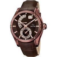 Ceasuri & Bijuterii Bărbați Ceasuri Analogice Jaguar J680/A, Quartz, 45mm, 10ATM Maro