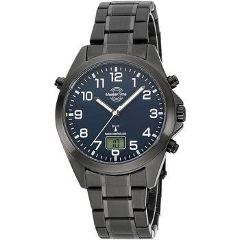 Ceasuri & Bijuterii Bărbați Cesuri Analogic- digital Master Time MTGA-10737-22M, Quartz, 41mm, 3ATM Negru