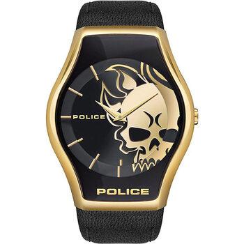Ceasuri & Bijuterii Bărbați Ceasuri Analogice Police PEWJA2002301, Quartz, 45mm, 3ATM Auriu
