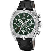 Ceasuri & Bijuterii Bărbați Ceasuri Analogice Jaguar J857/7, Quartz, 45mm, 10ATM Argintiu