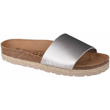 Pantofi Femei Papuci de vară Geographical Norway Sandalias Baja Verano Argent