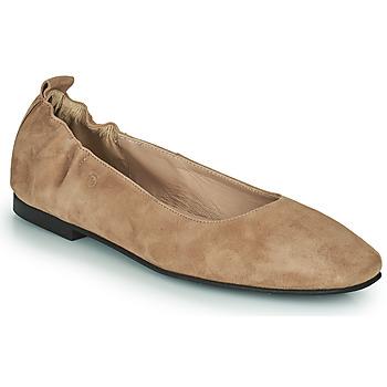 Pantofi Femei Balerin și Balerini cu curea Betty London PETRUS Coniac