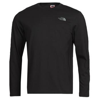 Îmbracaminte Bărbați Tricouri cu mânecă lungă  The North Face L/S EASY TEE Negru